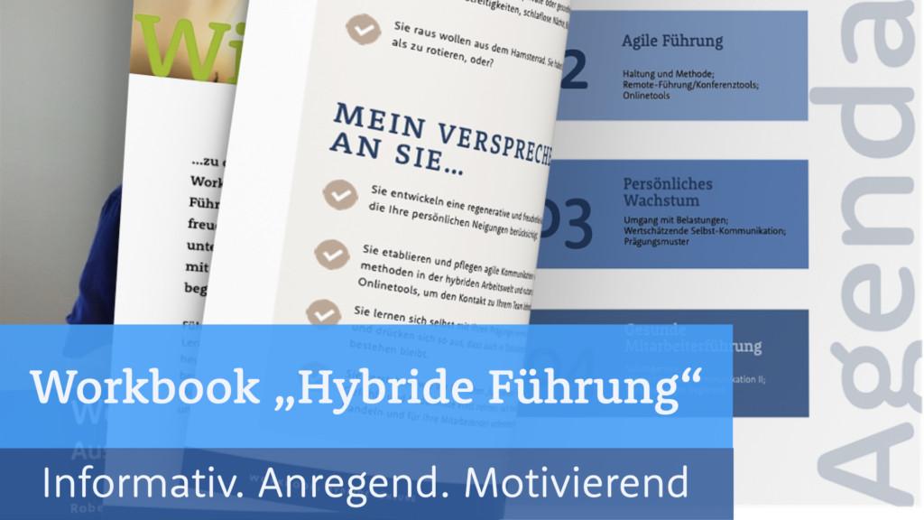 Arbeitsbuch Hybride Führung